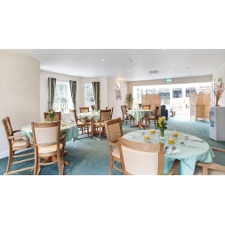 Maesbrook Care/Nursing Home Dining Room in Shrewsbury, Shropshire