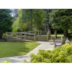 Garden at Maesbrook Care/Nursing Home in Shrewsbury, Shropshire
