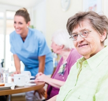 maesbrook care home carer