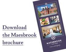 Download the Maesbrook brochure